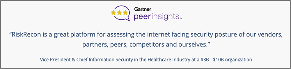 Gartner Peer Insights-Review1-Home