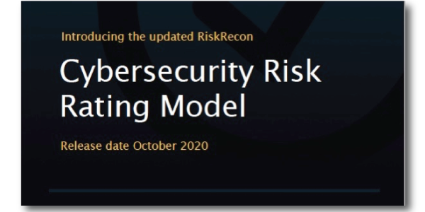 Academy: Cybersecurity Risk Ratings Model