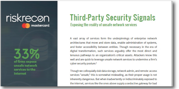 Third-Party Security Signals
